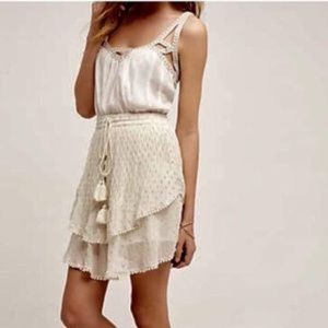 ANTHROPOLOGIE Primrose Tryb Mini Skirt size XS